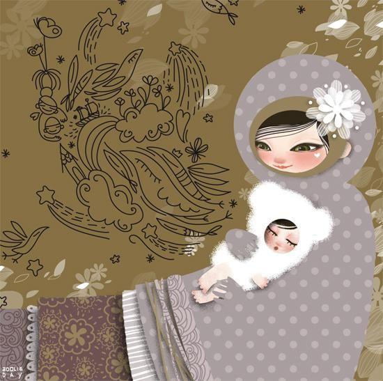 Coco MioPostcard -La Marelle Editions2007