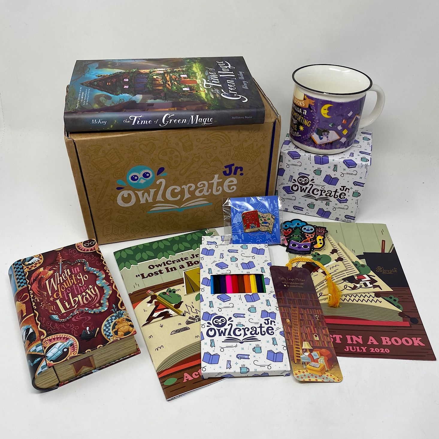 Owlcrate Jr Book Box Review Coupon July 2020 Msa Book Box Owlcrate Entertaining Books