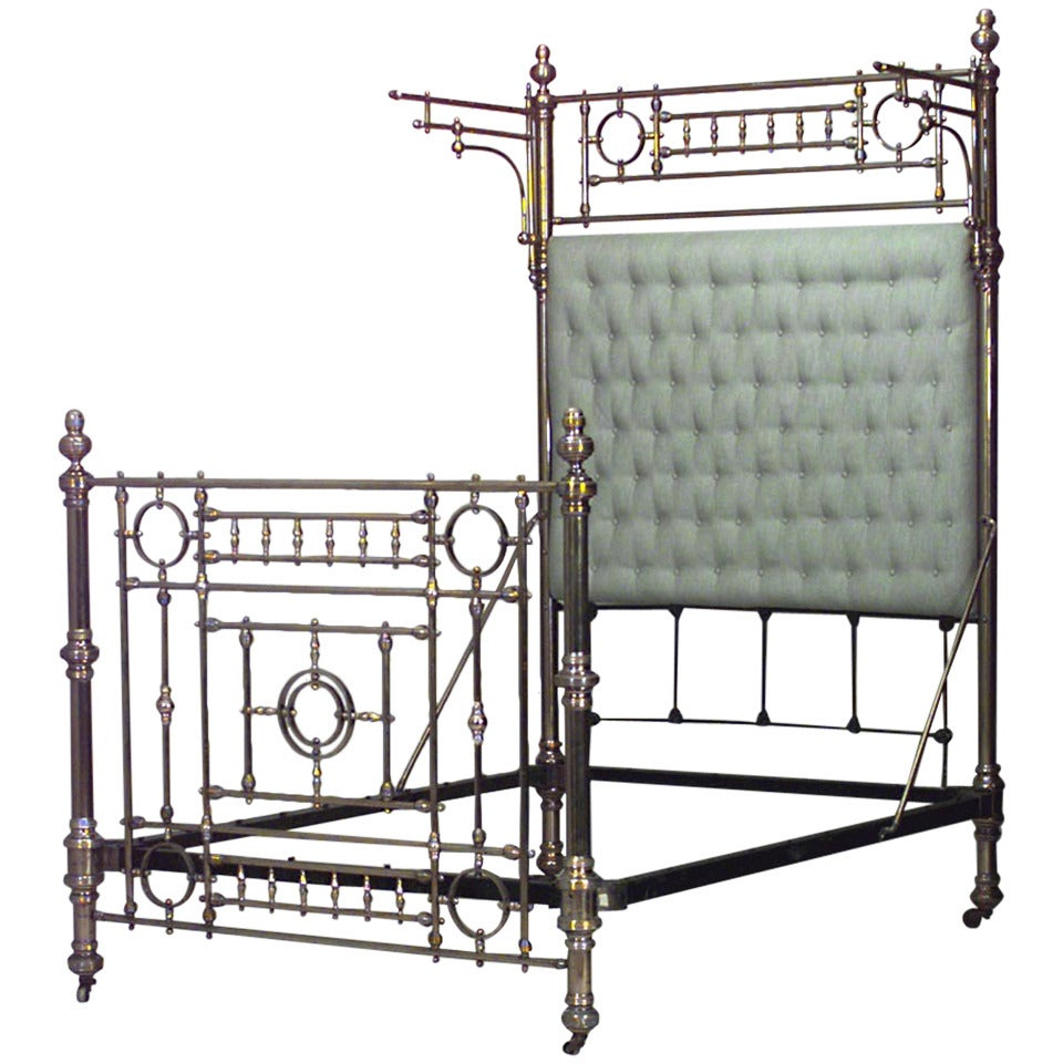 Best Dramatic 19Th Century American Full Sized Brass Bed 400 x 300
