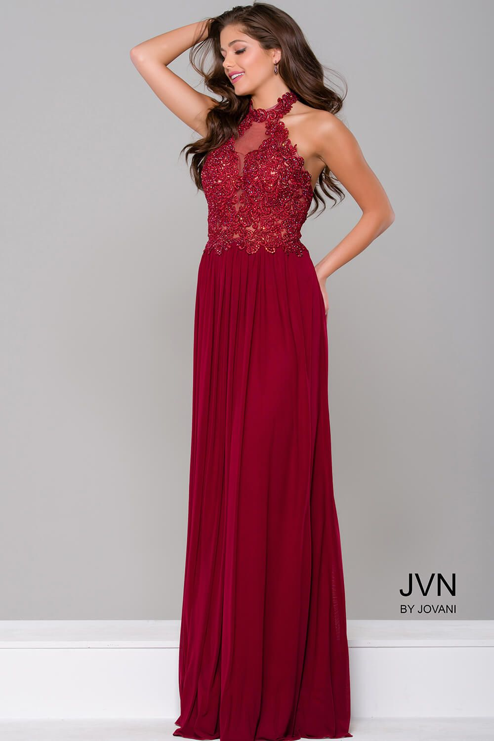 cbb462d3c9a  JVN 41442 will give you that timeless look that you are looking for!  Whether it s prom or that perfect braids maid gown!