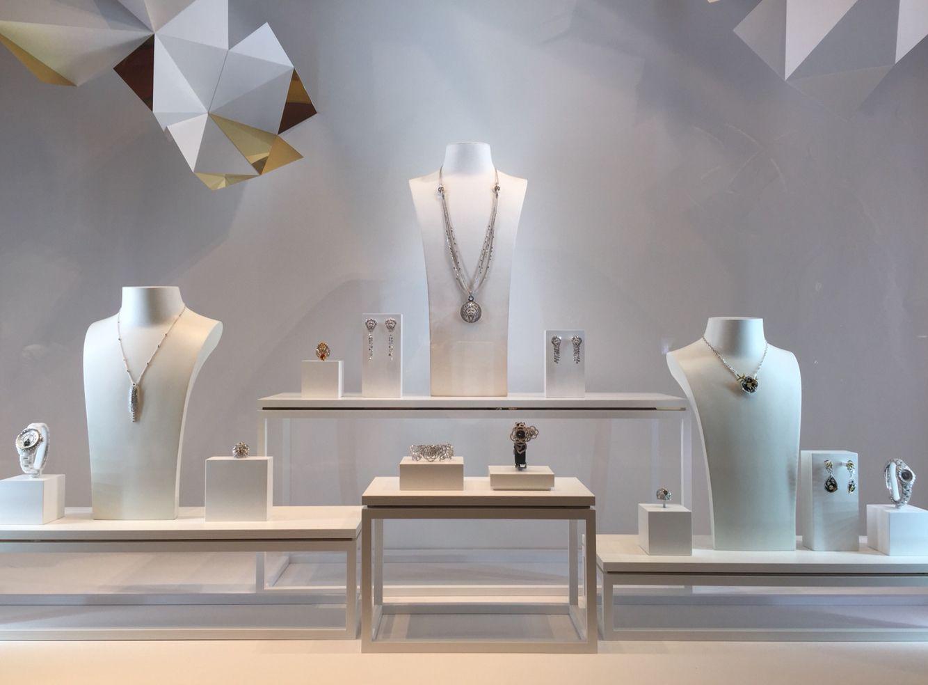 Window display ideas for jewelry  chanel fine jewelry window display  display  pinterest  window