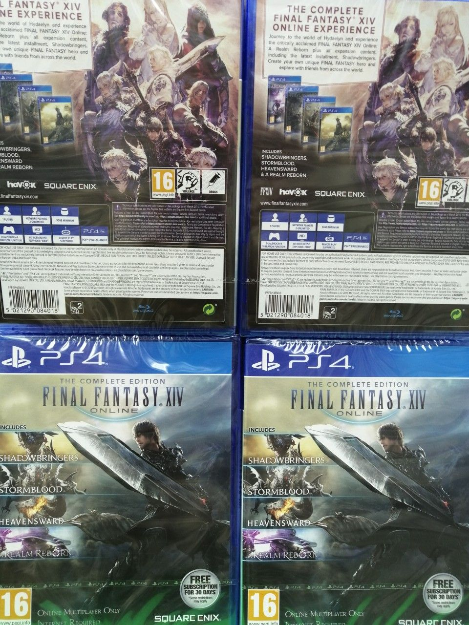 Ps4 The Complete Edition Final Fantasy Xiv Online Ean