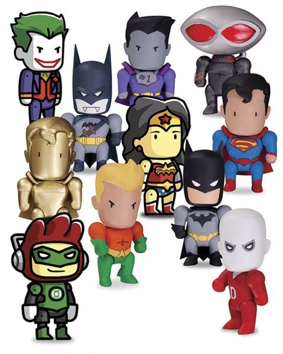 SCRIBBLENAUTS: UNMASKED MINI FIGURES BLIND BOXES SERIES 1. Check out the DC Collectibles Solicitations for November 2013 on ComicsAlliance: http://comicsalliance.com/dc-collectibles-solicitations-for-november-2013/