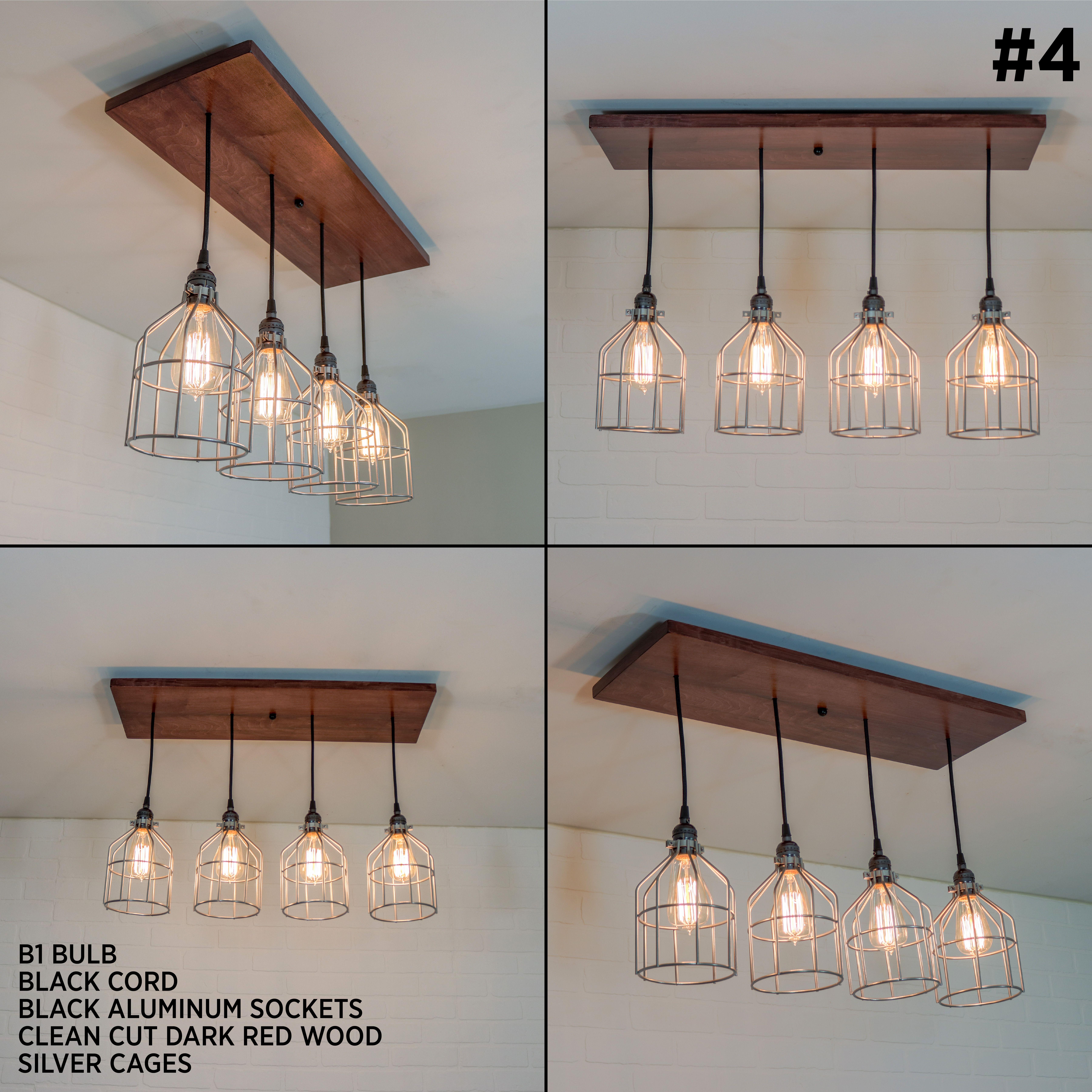 Kitchen Island Lighting Fixture Rustic Ceiling Chandelier