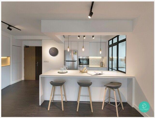 Wet & Dry Kitchen Design Inspiration Pinterest Kitchens