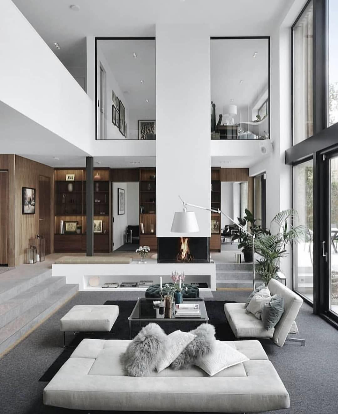 Wall Decor Ideas For Large Walls Contemporary Living Room Design Living Room Design Modern Contemporary Decor Living Room