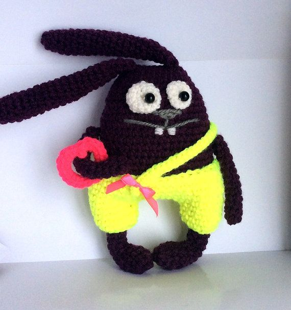 Easter bunny crochet toy gift for daughter gift for girl bunny easter bunny crochet toy gift for daughter gift for girl bunny negle Images