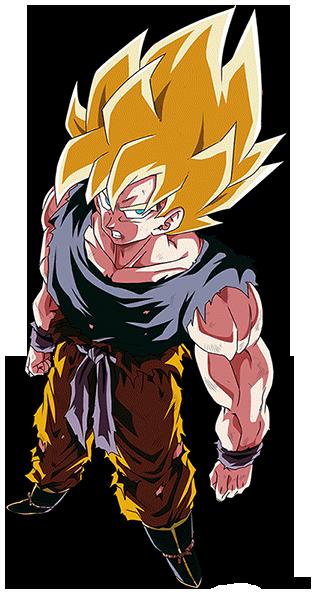 Son Goku Ssj Namek Render 4 Dokkan Battle By Maxiuchiha22 On Deviantart Anime Dragon Ball Super Anime Dragon Ball Dragon Ball Z