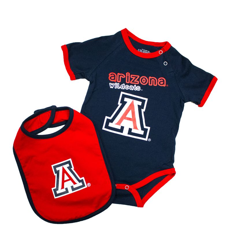 Infant Arizona Wildcats A Logo Onesie Amp Bib U Of A