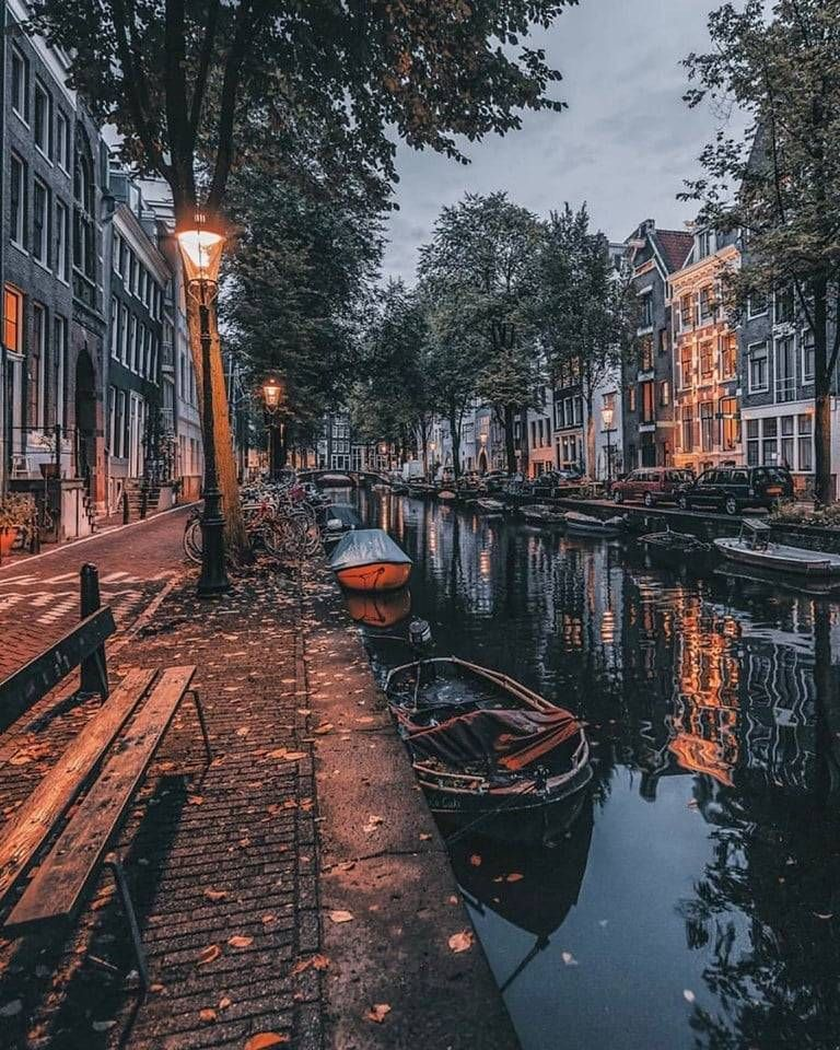 The Canals of Amsterdam ✨