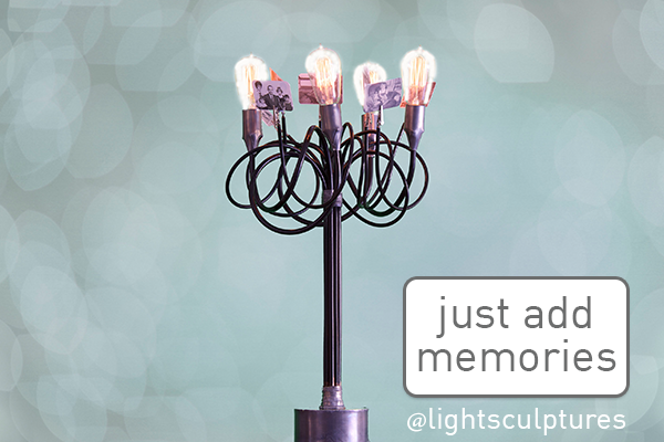 You have the photos, we have somewhere to put them. #lightsculptures