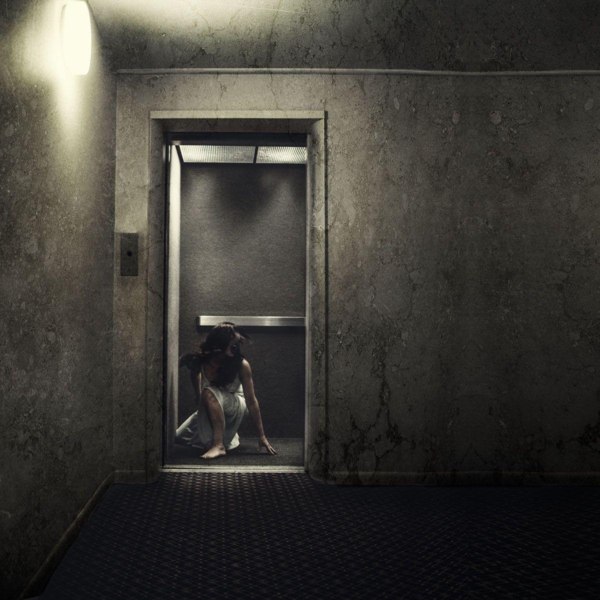 Creepy Image By Heather Byington Would Make A Cool Elevator Scene