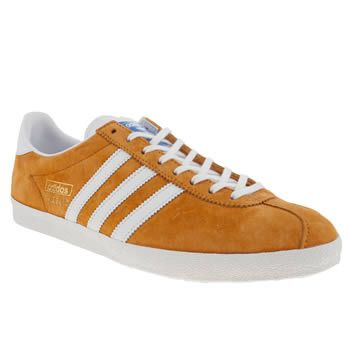 best sneakers 380fc 6f228 Mens Mustard Yellow Adidas Gazelle Og Trainers  schuh
