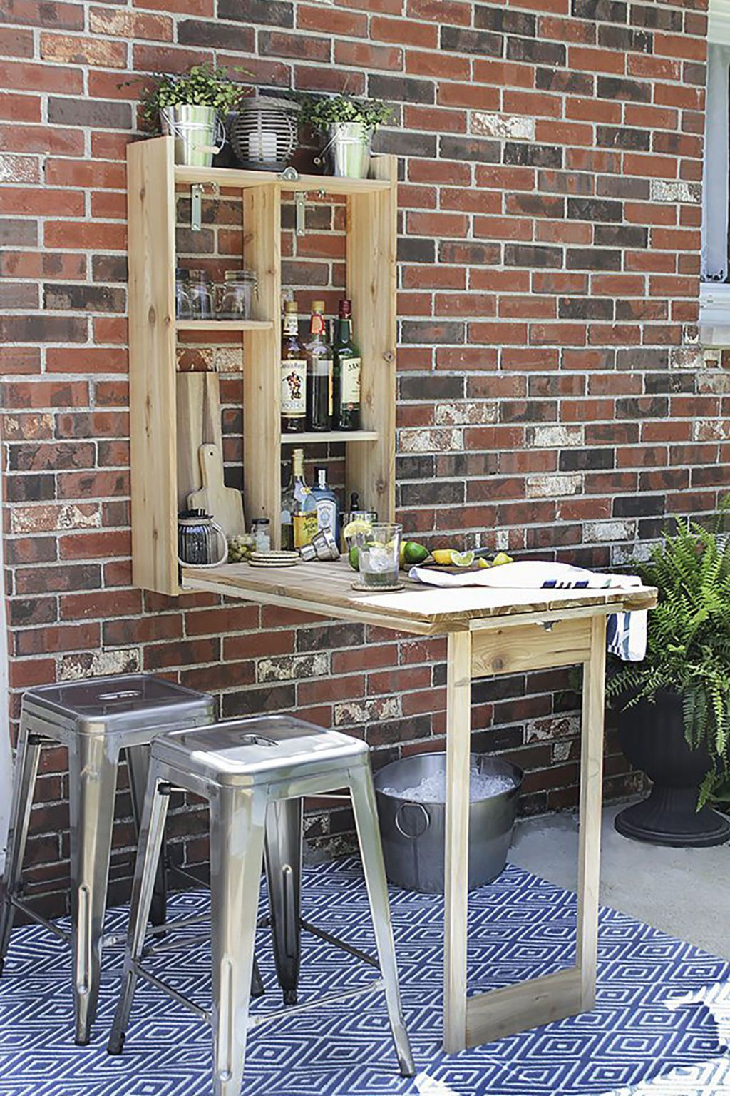 25 Creative Ways to Make the Most Of a Tiny Backyard   Bar, Garden on creative pool deck ideas, creative diy kitchen ideas, creative kitchen backsplash ideas, creative small kitchen design ideas,