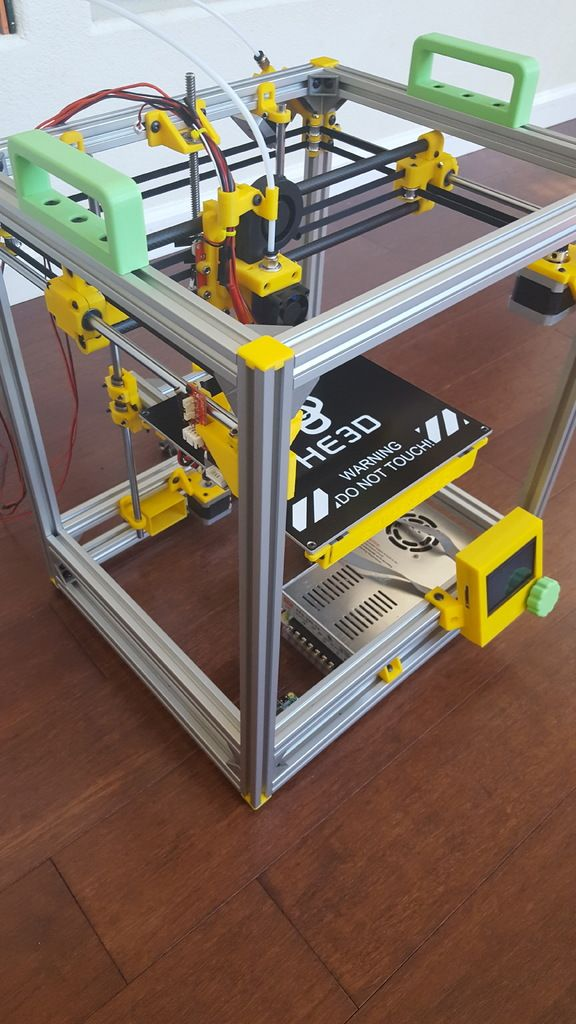 HyperCube+3D+Printer/CNC+by+quickbike.+Based+on+a+design