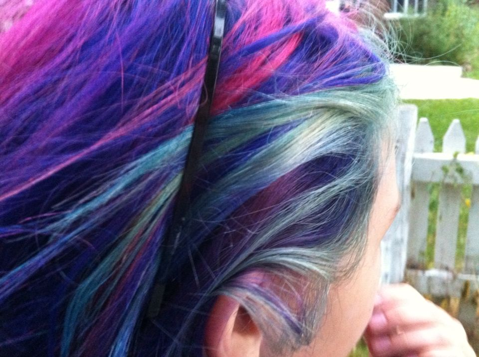 This is my friend when we were taking a walk I saw the perfect blend of her colors so I took a pic