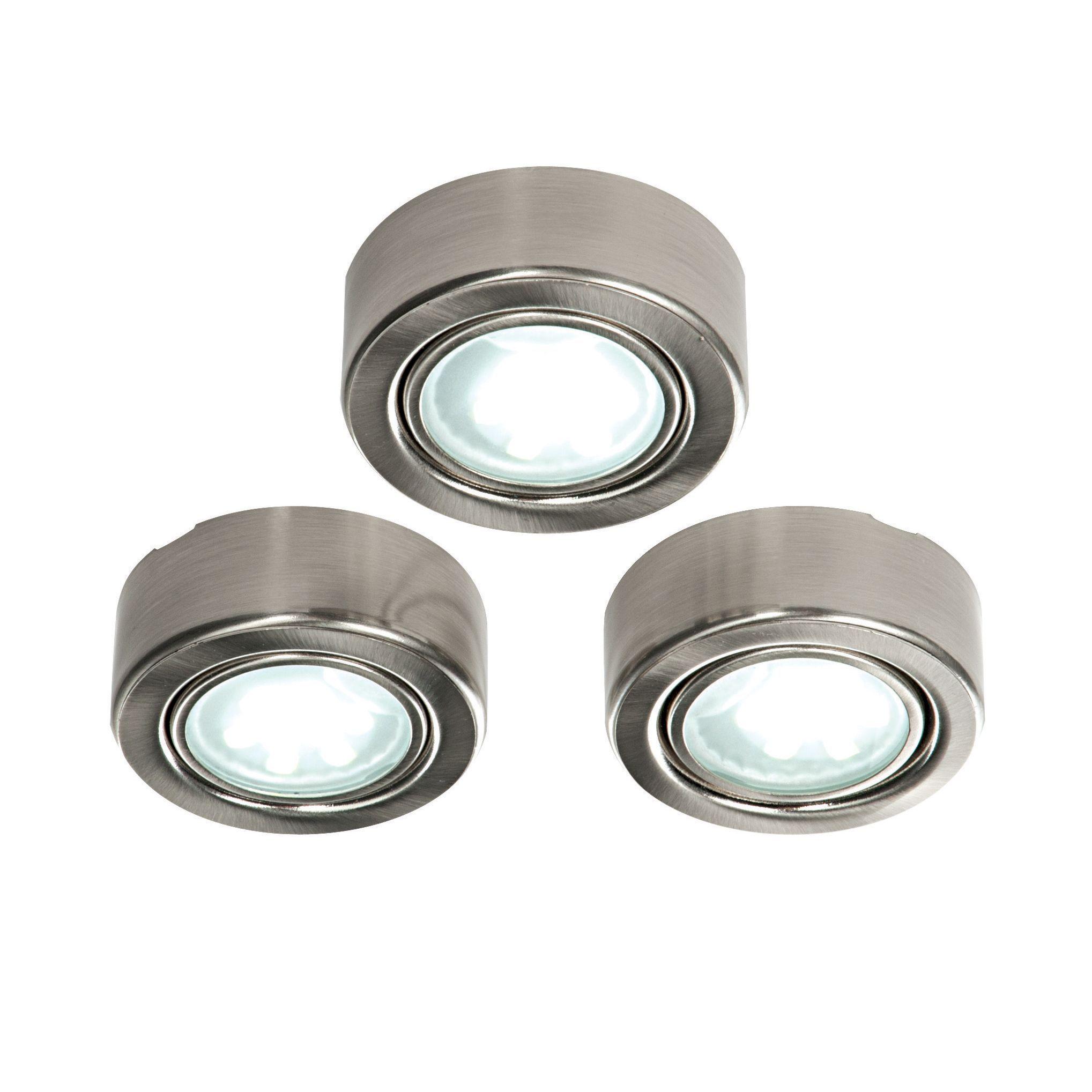 Masterlite Led 1 8w Cabinet Light Pack Of 3 Departments