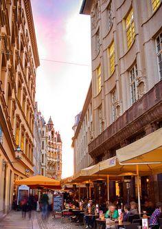 Leipzig Barfussgasschen Ecke Markt Am Spizz Leipzig Innenstadt Leipzig Sachsen Leipzig