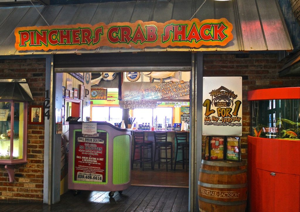 Mustdo Pincher S Crab Shack Seafood Restaurant Tin City Naples Fl