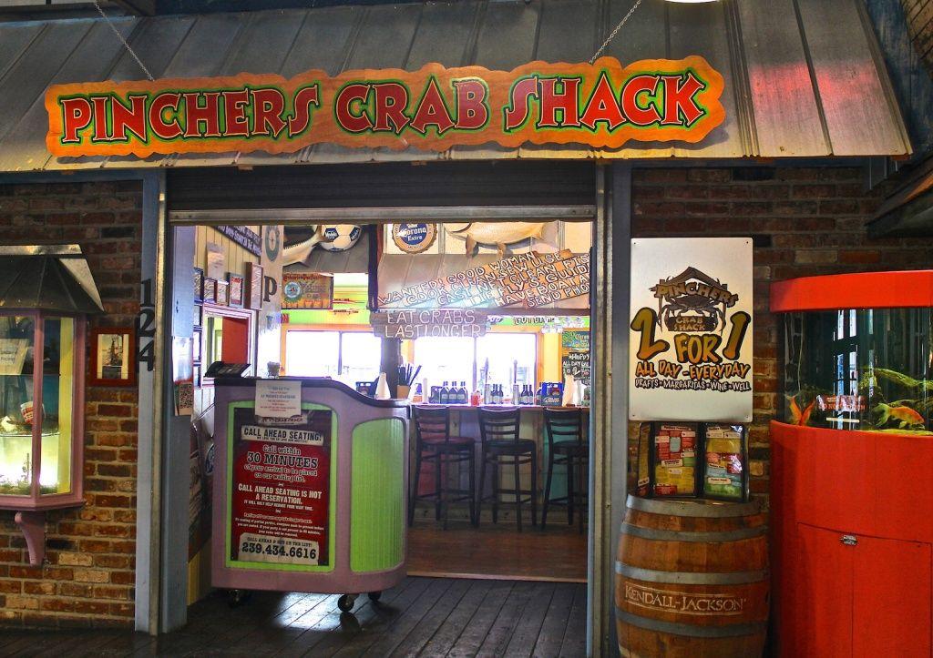 Mustdo Pincher S Crab Shack Seafood Restaurant Tin City Naples Fl