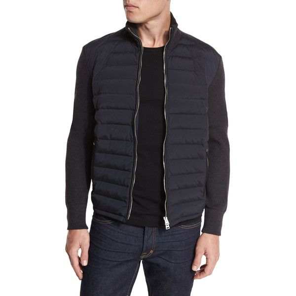 a470769445 TOM FORD Quilted Tech   Knit Puffer Jacket (€2.335) ❤ liked on ...