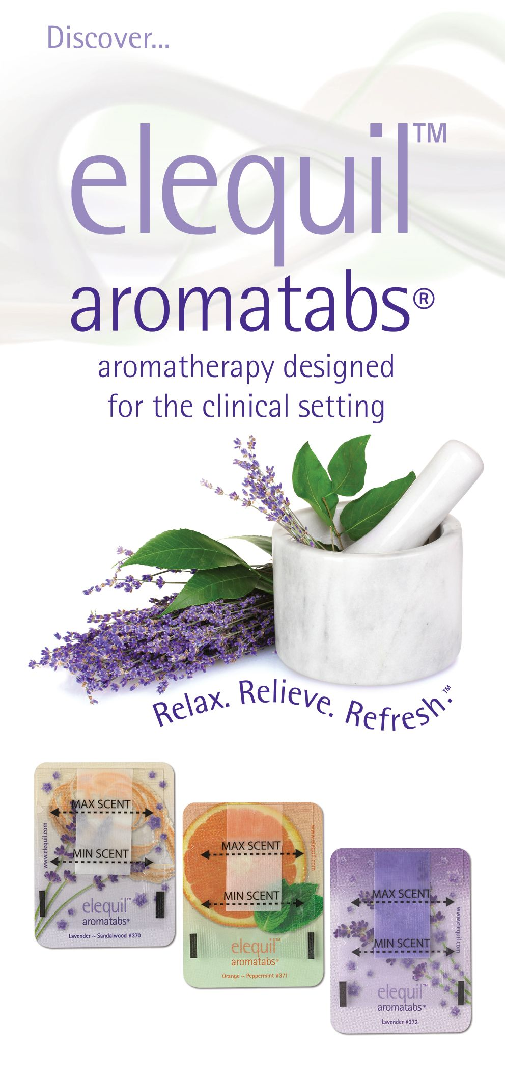 Discover elequil aromatabs aromatherapy you can wear