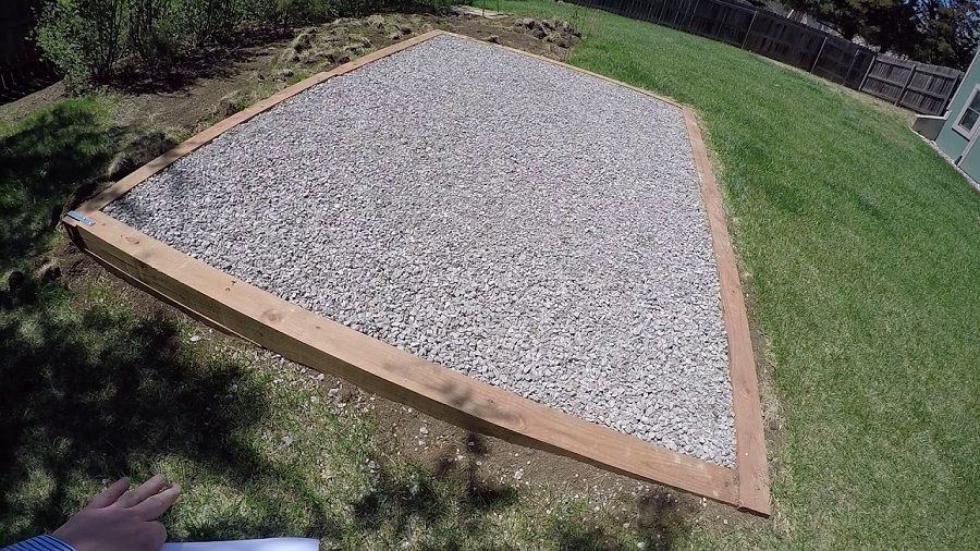 How To Build A Gravel Foundation For A Shed Shed, Shed