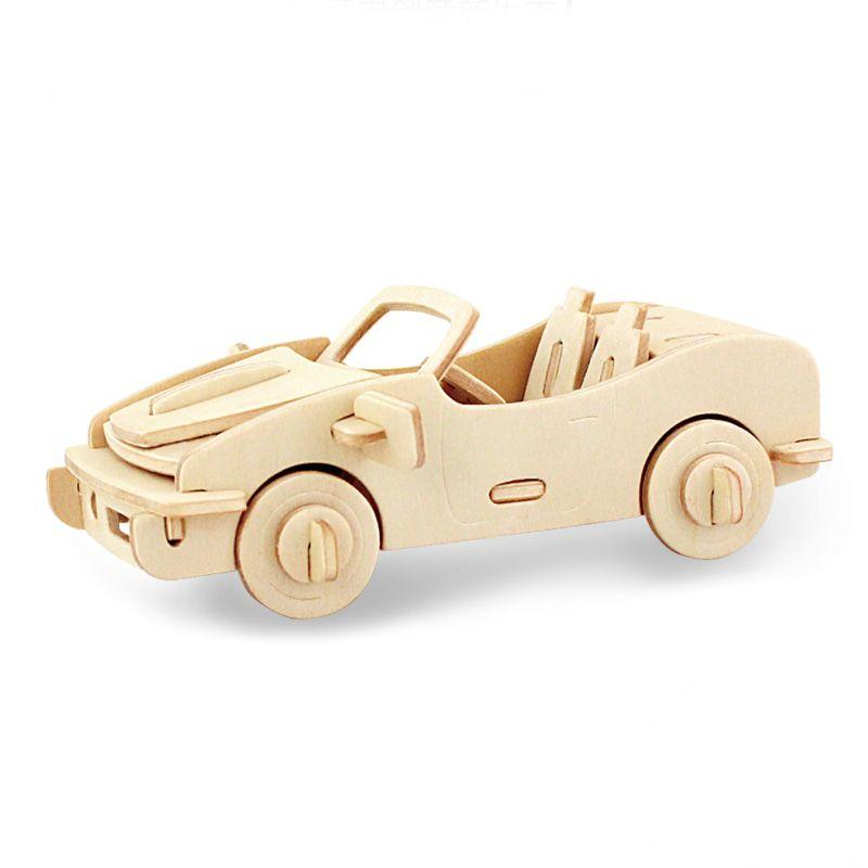 3d Wooden Car Puzzle Wooden Puzzles Car For Kids Adults Juguetes De Madera Juguetes De Madera
