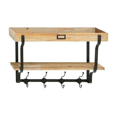 I pinned this Austin Wall Rack & Shelf from the Stylish Storage event at Joss and Main!