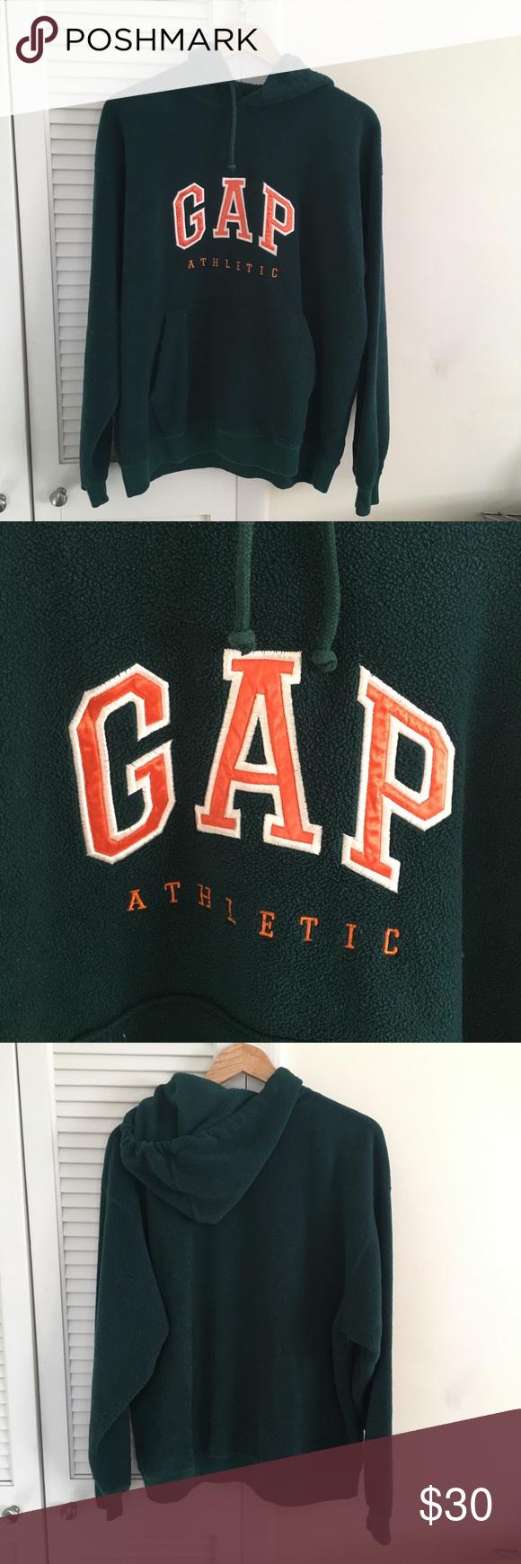 Vintage Vtg Green And Orange Gap Crewneck Hoodie Clothes Design Hoodies Sweaters Crewneck