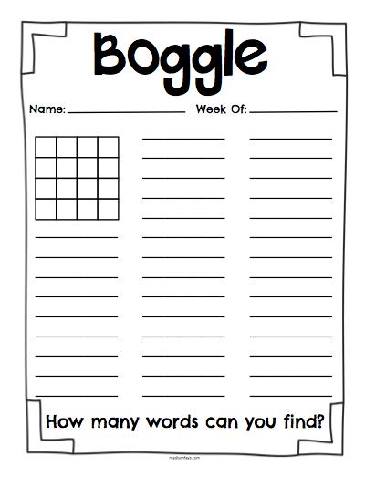 Free printable boggle letters boards boggle pinterest - Proyector worten ...