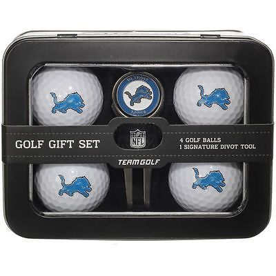 Divot Tools 108166: Detroit Lions 2016 4 Golf Ball And Divot Tool Set - Nfl BUY IT NOW ONLY: $34.99