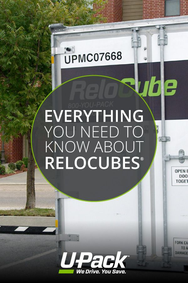 Upack Quote Fascinating Have Questions About Upack Relocubes We've Got The Answers .