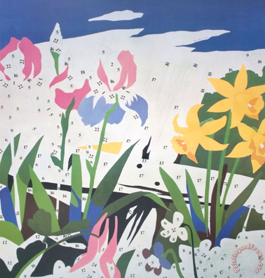 Do it yourself flowers painting by andy warhol art pinterest do it yourself flowers 1962 photo acrylic and prestype on canvas solutioingenieria Gallery