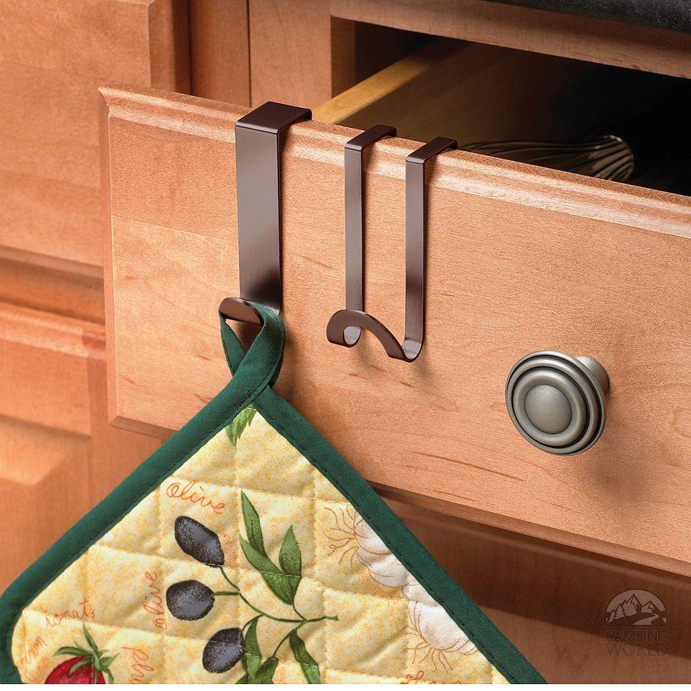 hooks for dishtowels or pot holders for the RV