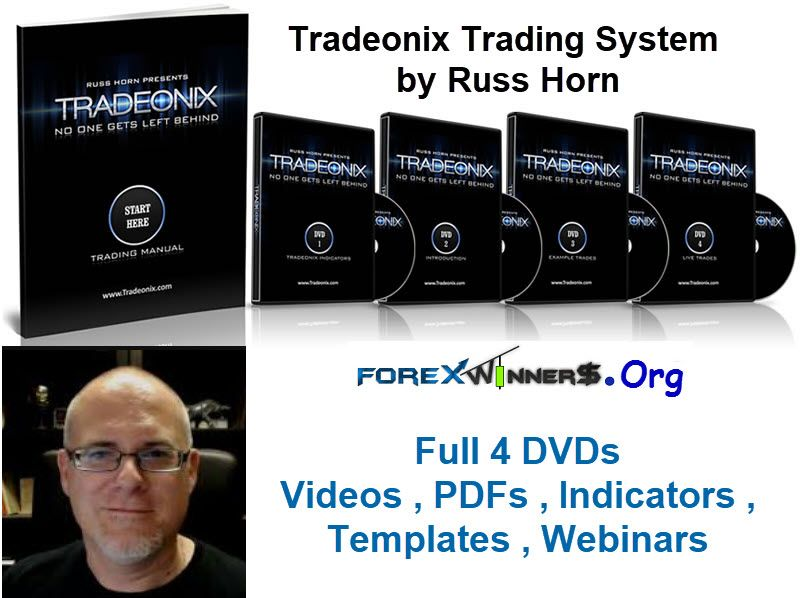 Tradeonix Trading System By Russ Horn Full Dvds System