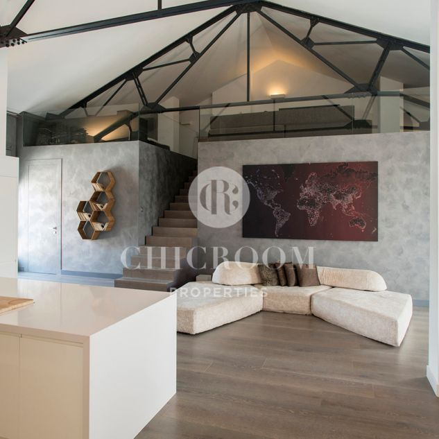 Loft Apartment For Sale In Poblenou Barcelona