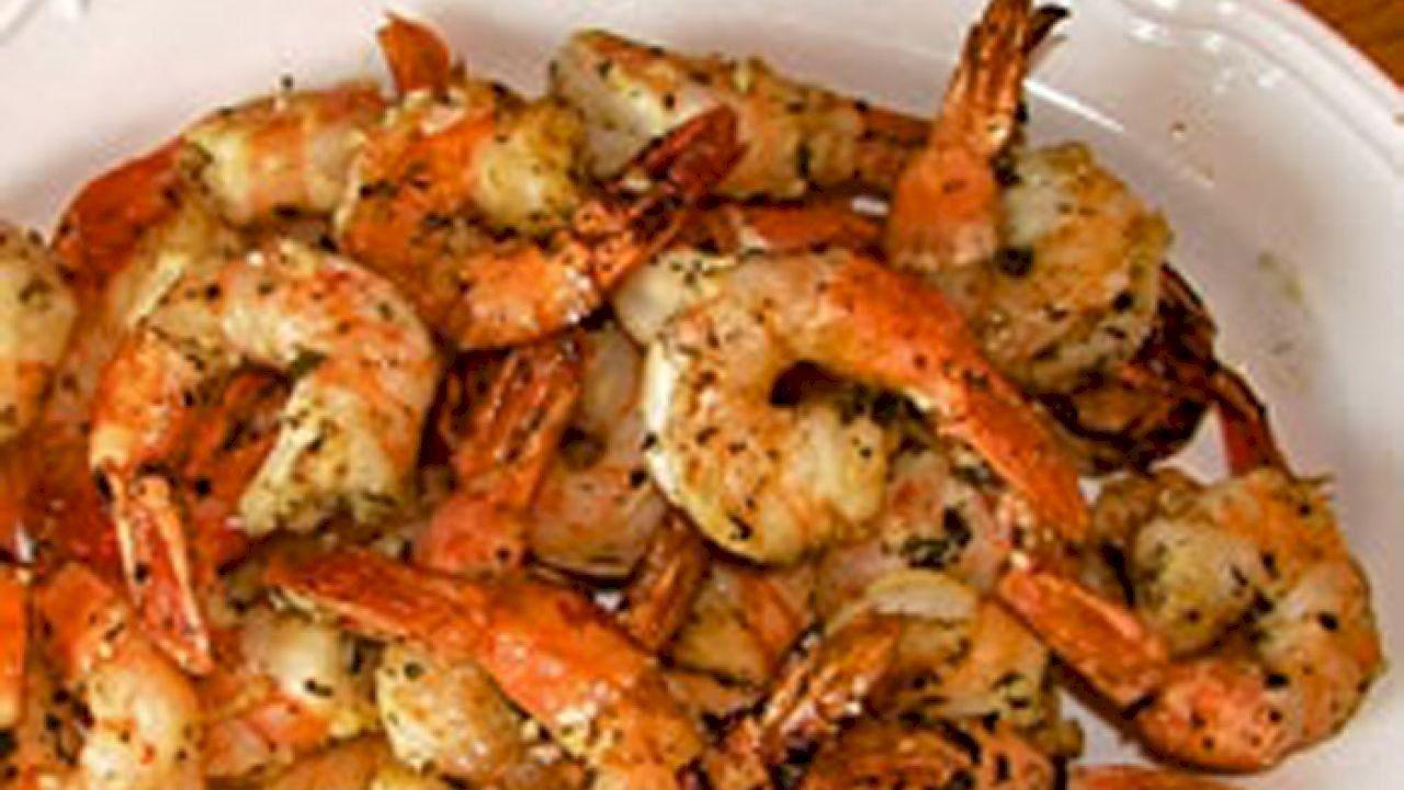 طريقة شوي الجمبري في الفرن Shrimp In The Oven Food Grilled Shrimp