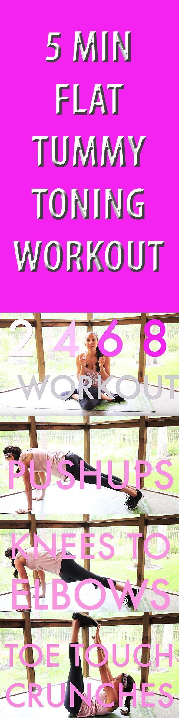 5 Min Flat Tummy Toning Workout. #sixpack #abs #coreworkout #abworkout #sixpackworkout #abexercise #flatbelly #flattummy