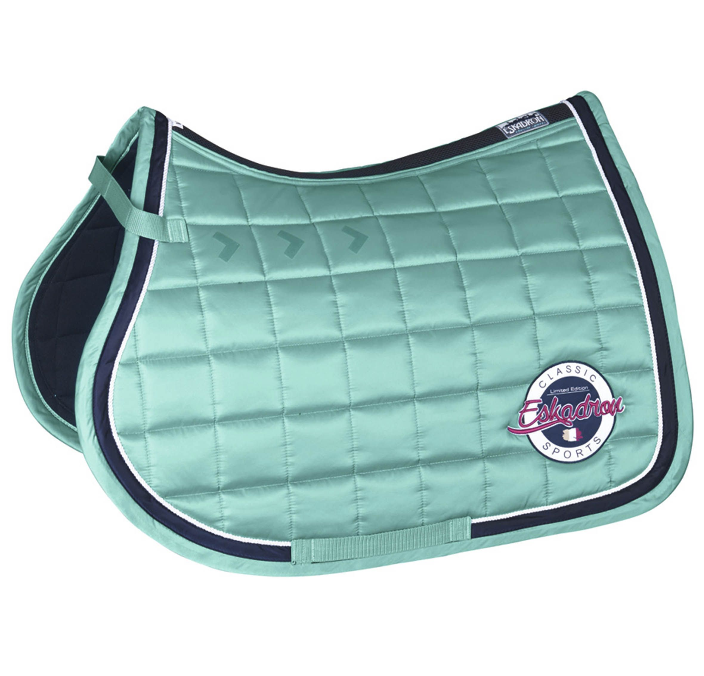 This Saddle Pad Will Make You Stand Out In The Gorgeous Ice Blue Colour From The Eskadron Classic Coll Horse Riding Clothes Horse Fashion Chuck Taylor Sneakers