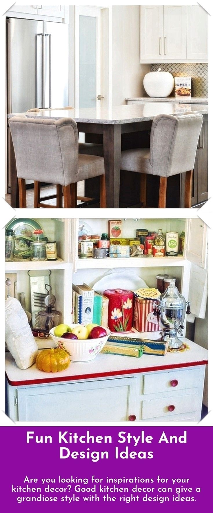 Easy and fun kitchen design and decoration ideas are you