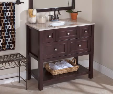 vanity from home depot that we bought on sale for $249