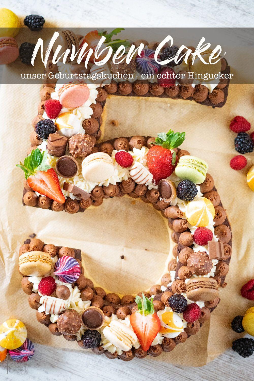 Rezept Wir Feiern Geburtstag Mit Einem Number Cake Gernekochen De Rezept Kuchen Ohne Backen Geburtstagskuchen Kuchen Und Torten