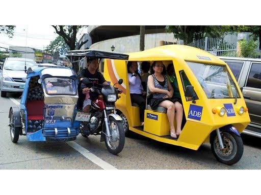 Tricycle Can Be Found Anywhere In The Philippines Because Its Cheap