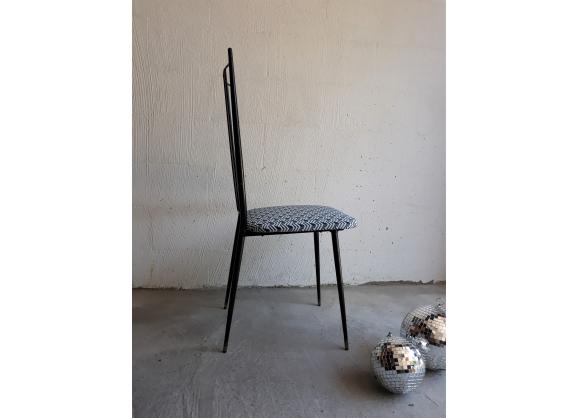 Suite de 4 chaises 1950 design Colette Gueden