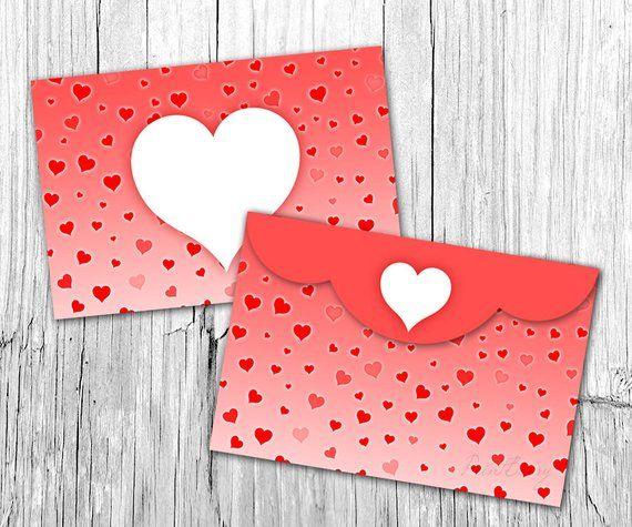 valentine envelope template 4x6 envelopes heart envelope printable