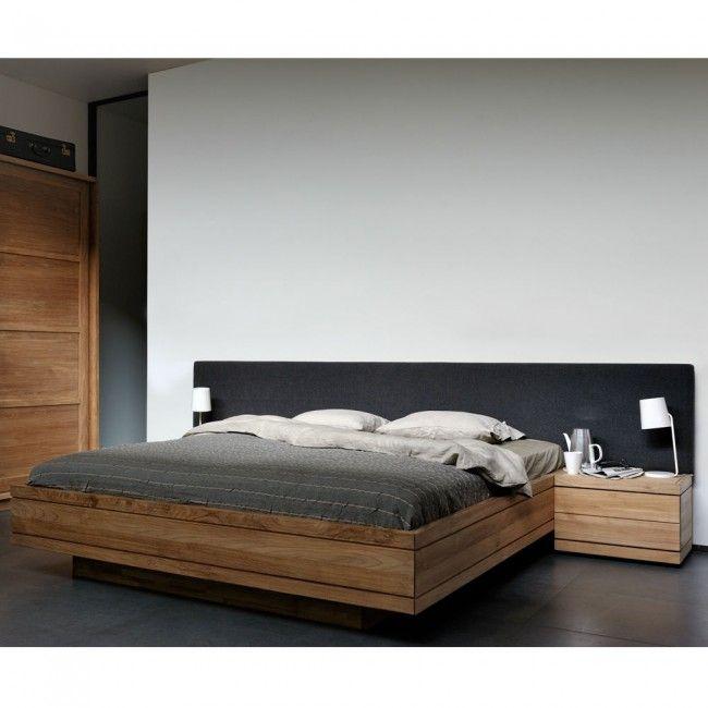 Ethnicraft Teak Burger King Bed by Ethnicraft | Clickon Furniture ...