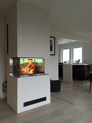 the visio fireplace from rais har a uniqe design in a newnordic look make your livingroom. Black Bedroom Furniture Sets. Home Design Ideas
