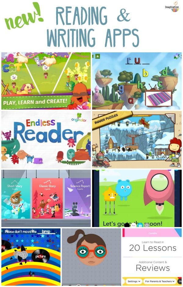Reading (and Writing) Apps for Kids Kids learning apps