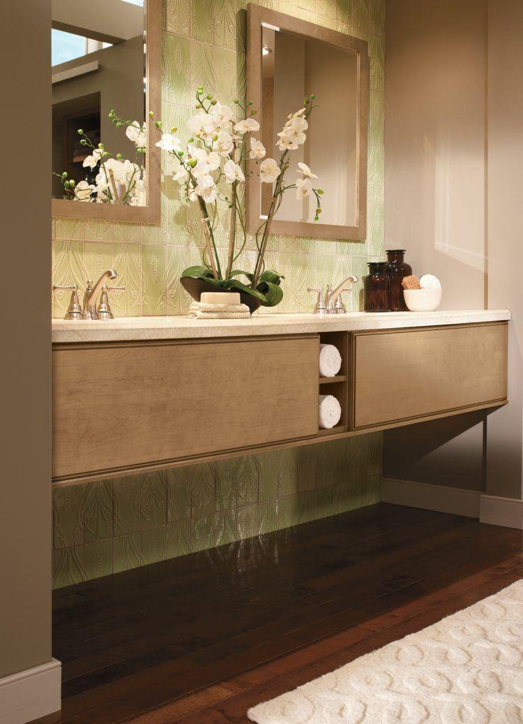 carrelage salle de bain imitation bois pour un dcor chaleureux - Carrelage Imitation Bois Salle De Bain